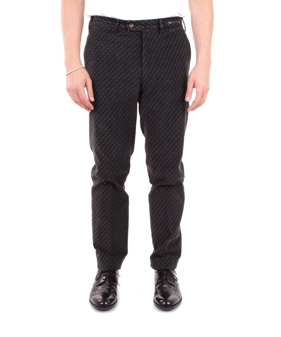 Image for PT01 MEN'S AP54NS01ZT0STNBLUE BLUE WOOL PANTS
