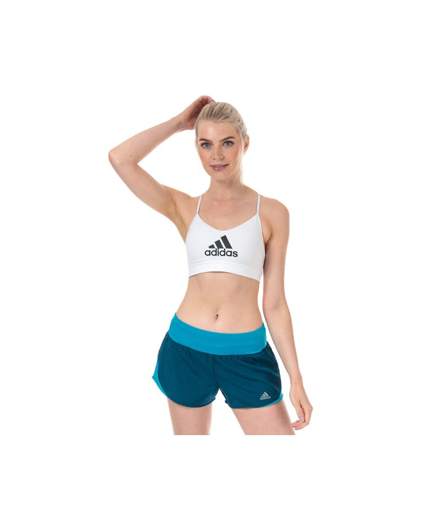 Image for Women's adidas All Me Badge Of Sport Bra in White