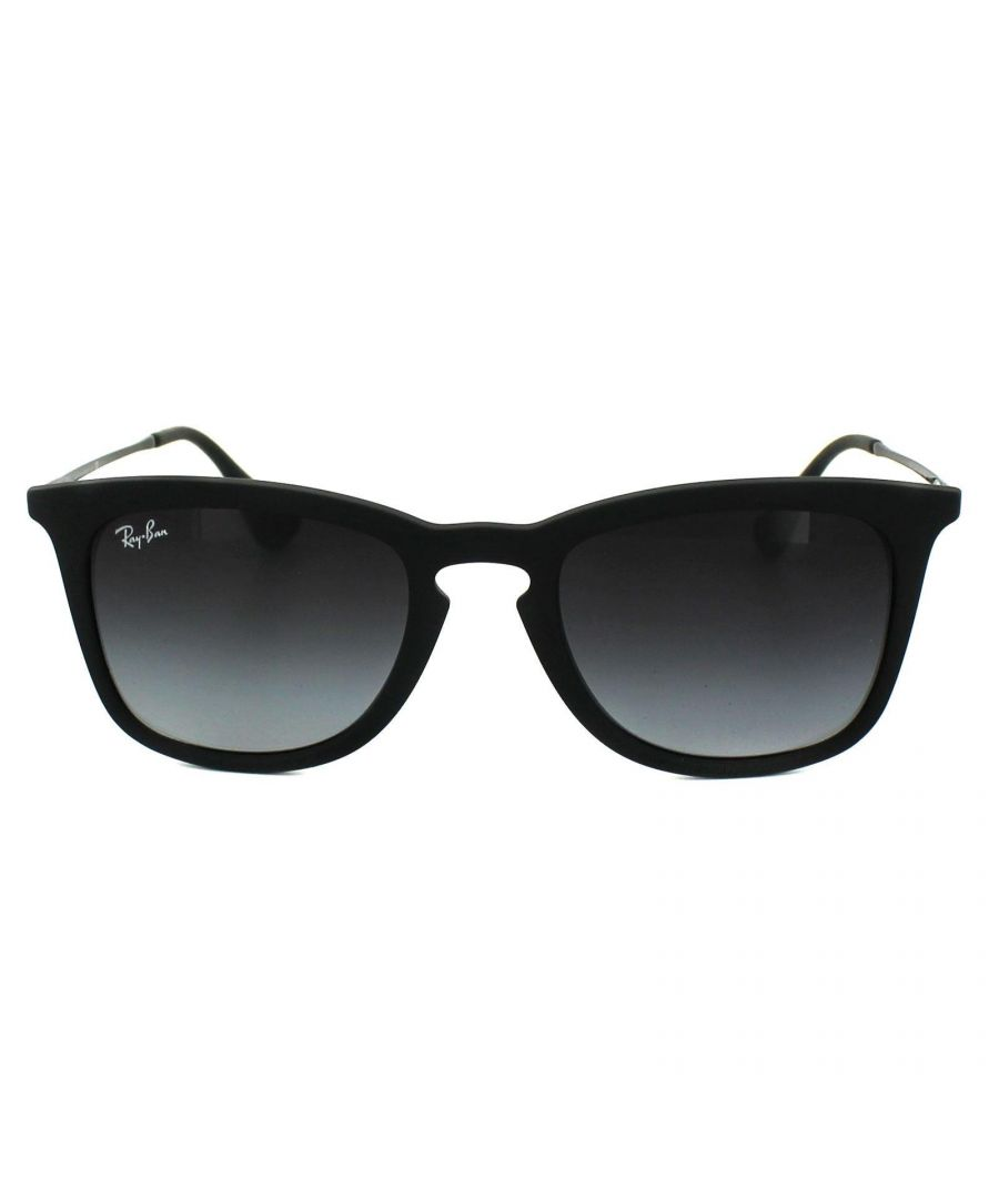 Image for Ray-Ban Sunglasses 4221 622/8G Black Rubber Grey Gradient
