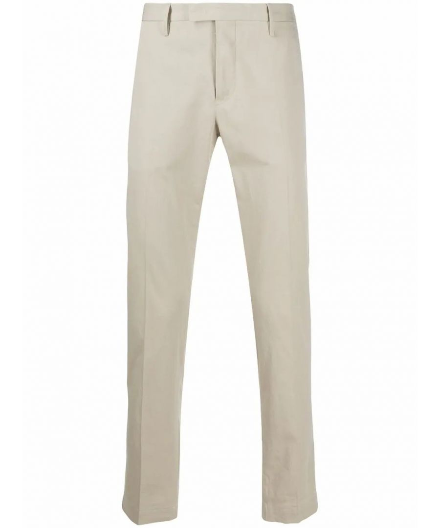 Image for PT01 MEN'S COKLZEZ10CL3BB140020 BEIGE COTTON PANTS