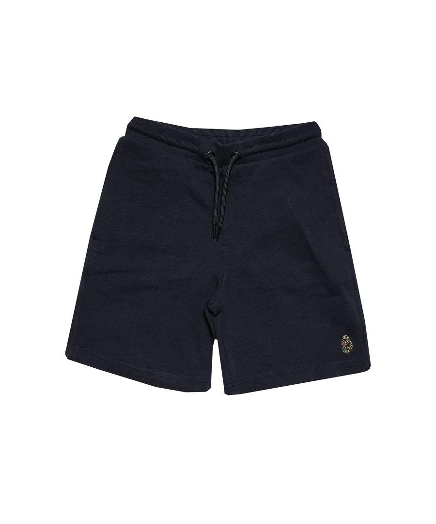 Image for Boys' Luke 1977 Junior Get Shorty Jog Shorts in Navy