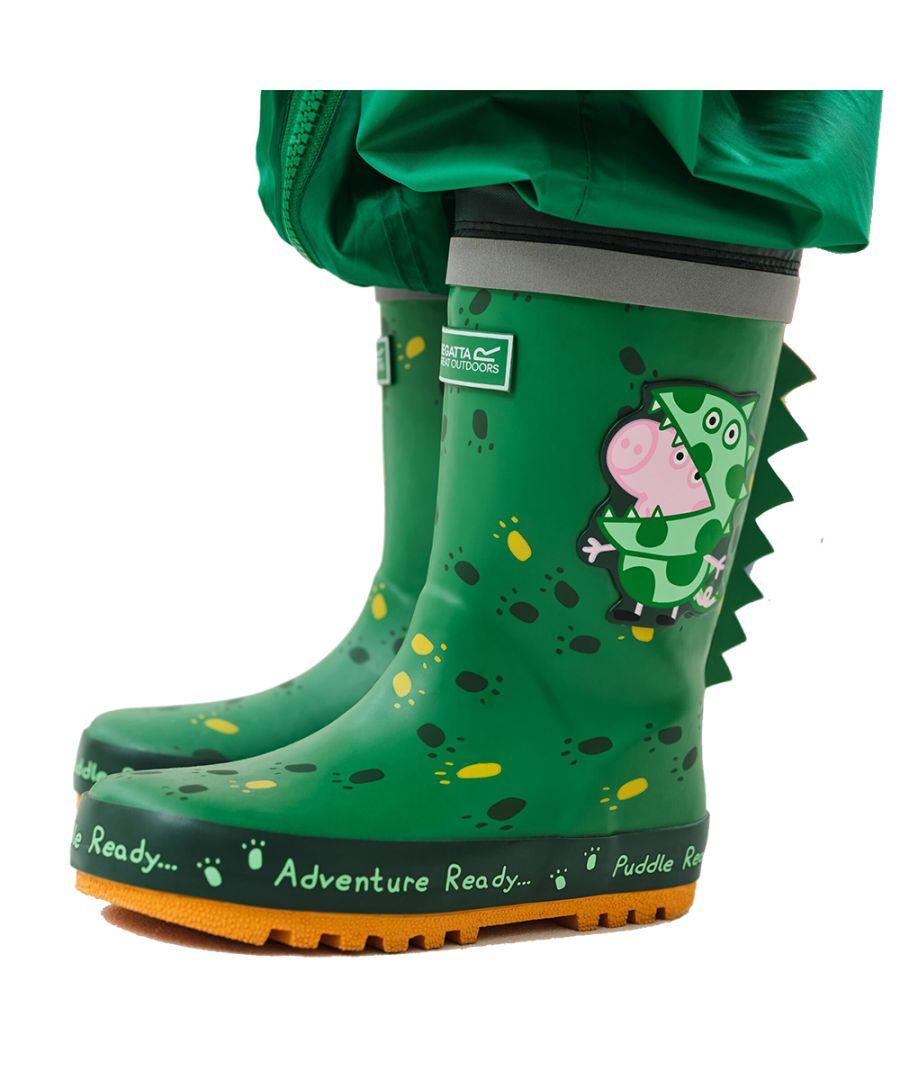 Image for Regatta Boys & Girls Peppa Pig Puddle Wellington Boots