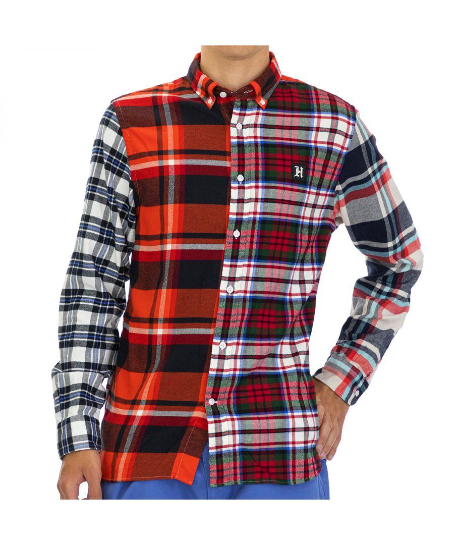 Image for Tommy Hilfiger Men Shirt   Full sleeve Orange