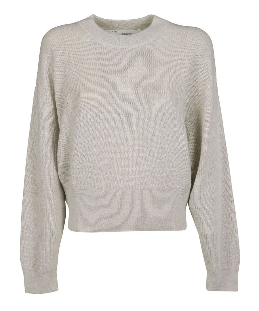 Image for IRO WOMEN'S WP12SKIFULWHI02 BEIGE COTTON JUMPER
