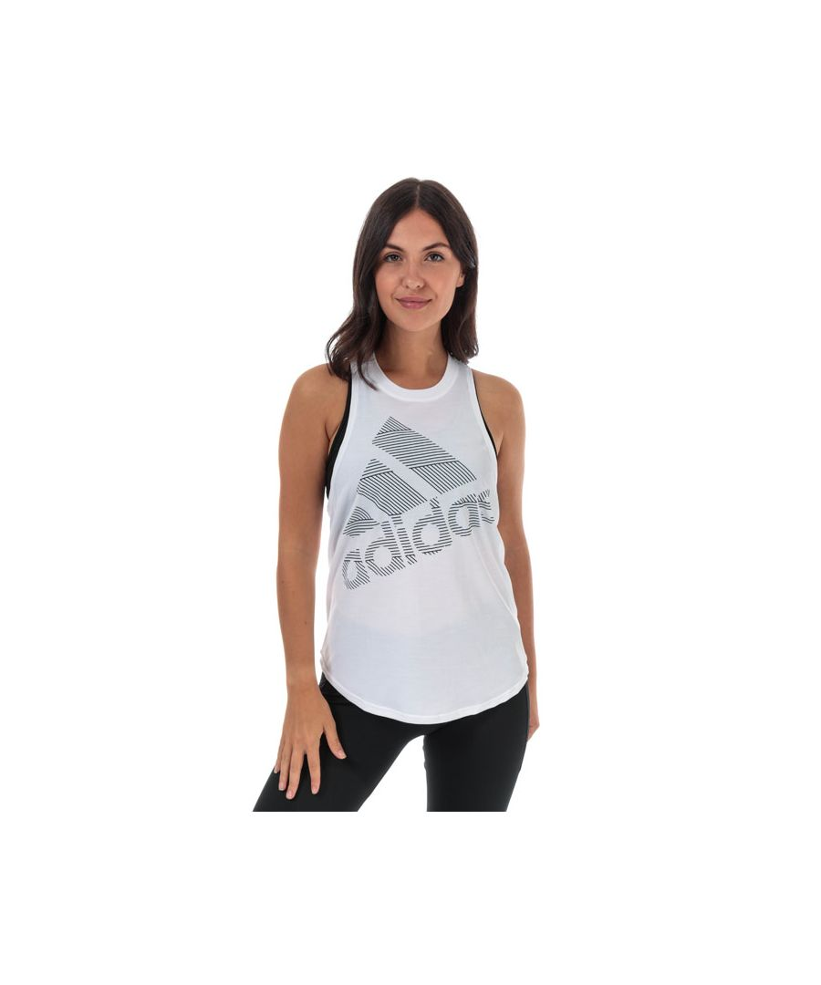 Image for Women's adidas Badge Of Sport Tank Top in White