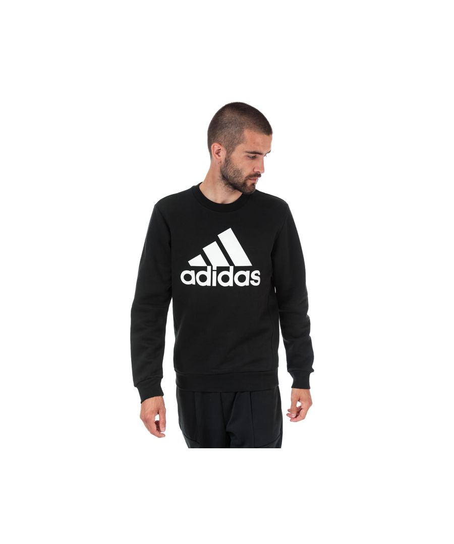 Image for Men's adidas Originals Must Have Badge Of Sport Crew Sweat in Black