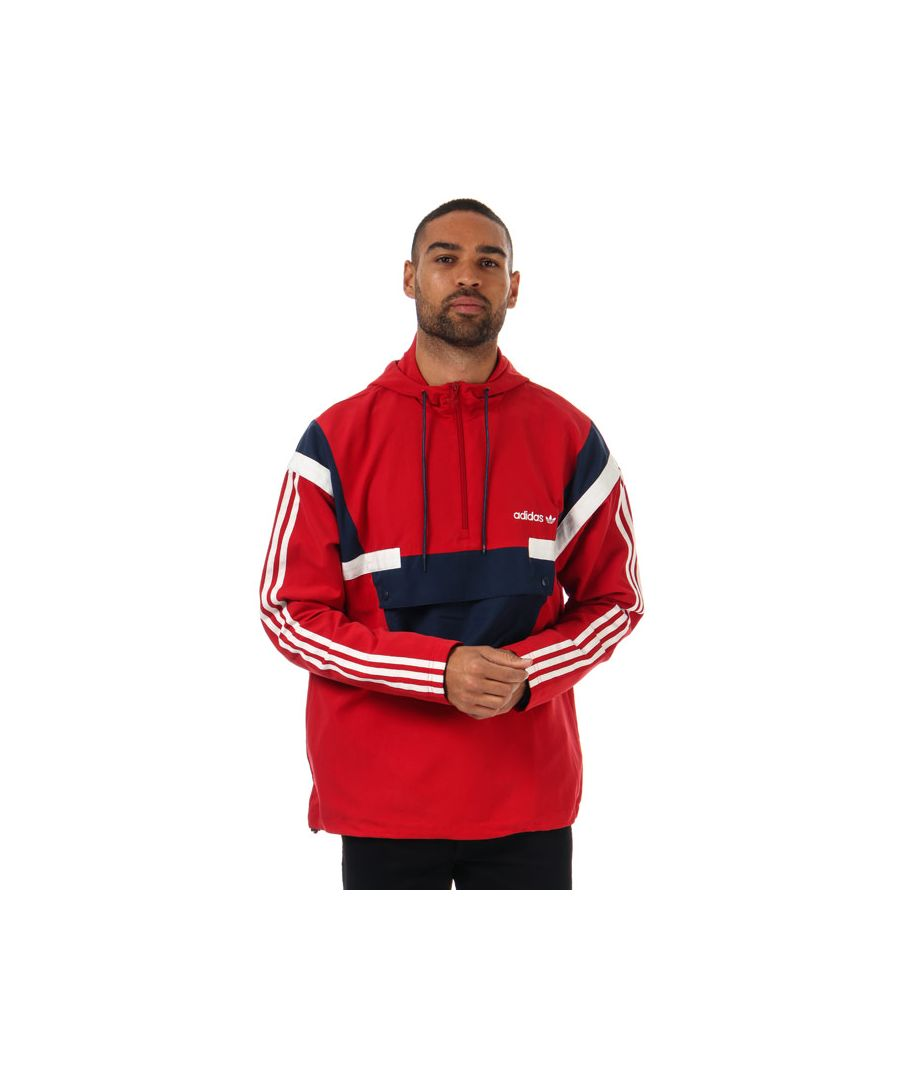 Image for Men's adidas Originals BR8 Windbreaker Jacket in Red
