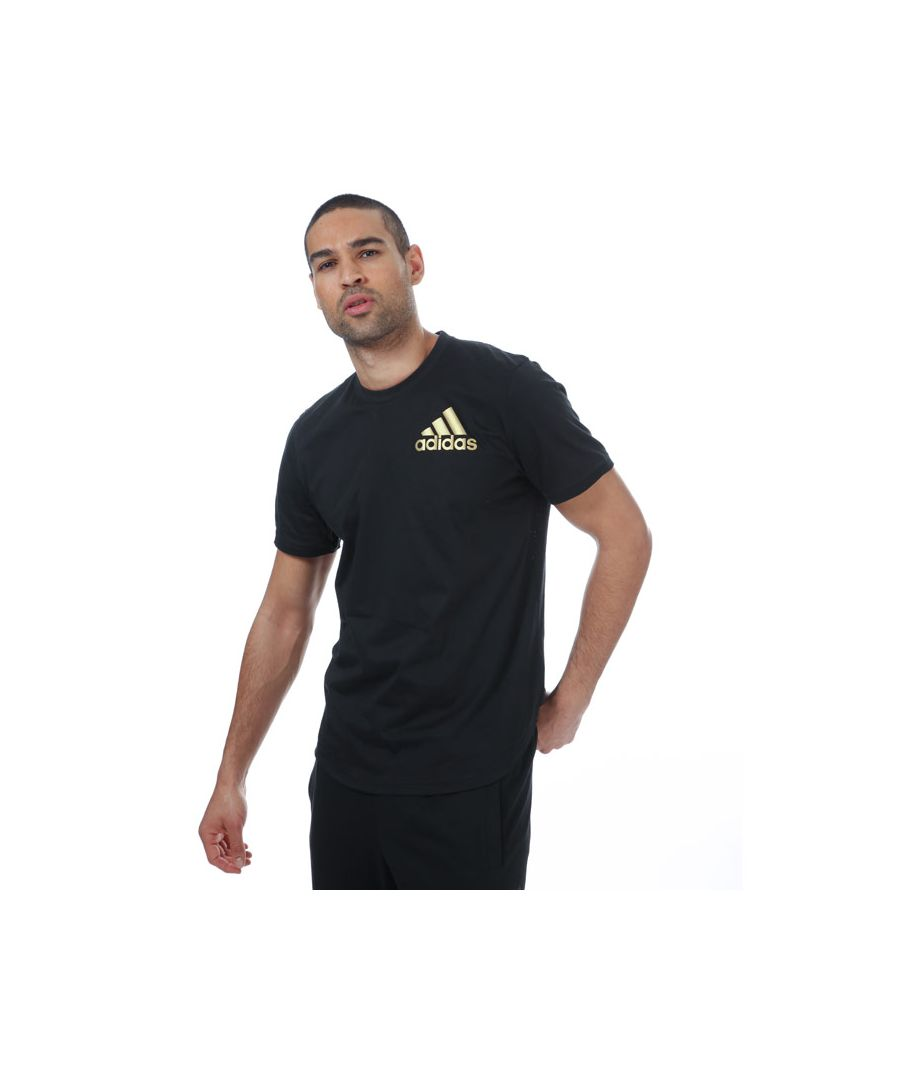 Image for Men's adidas Sport ID T-Shirt in Black