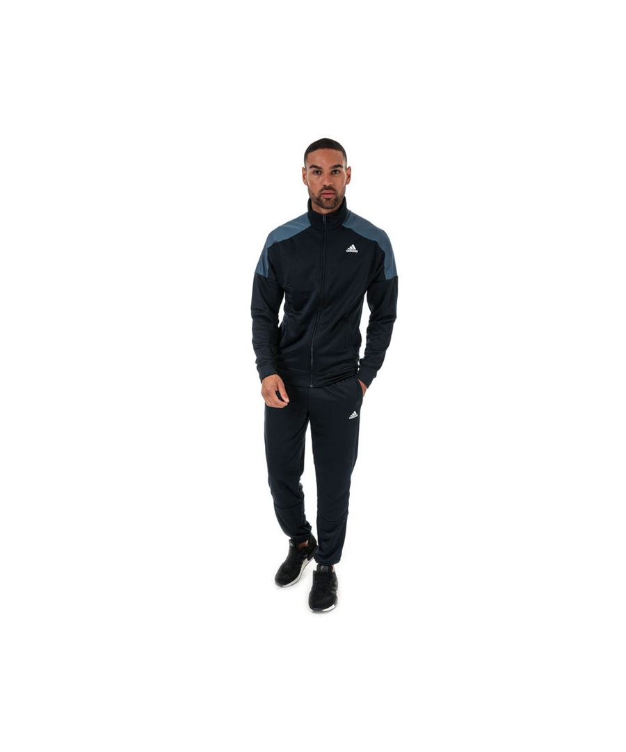 Image for Men's adidas Badge Of Sport Tracksuit in Navy