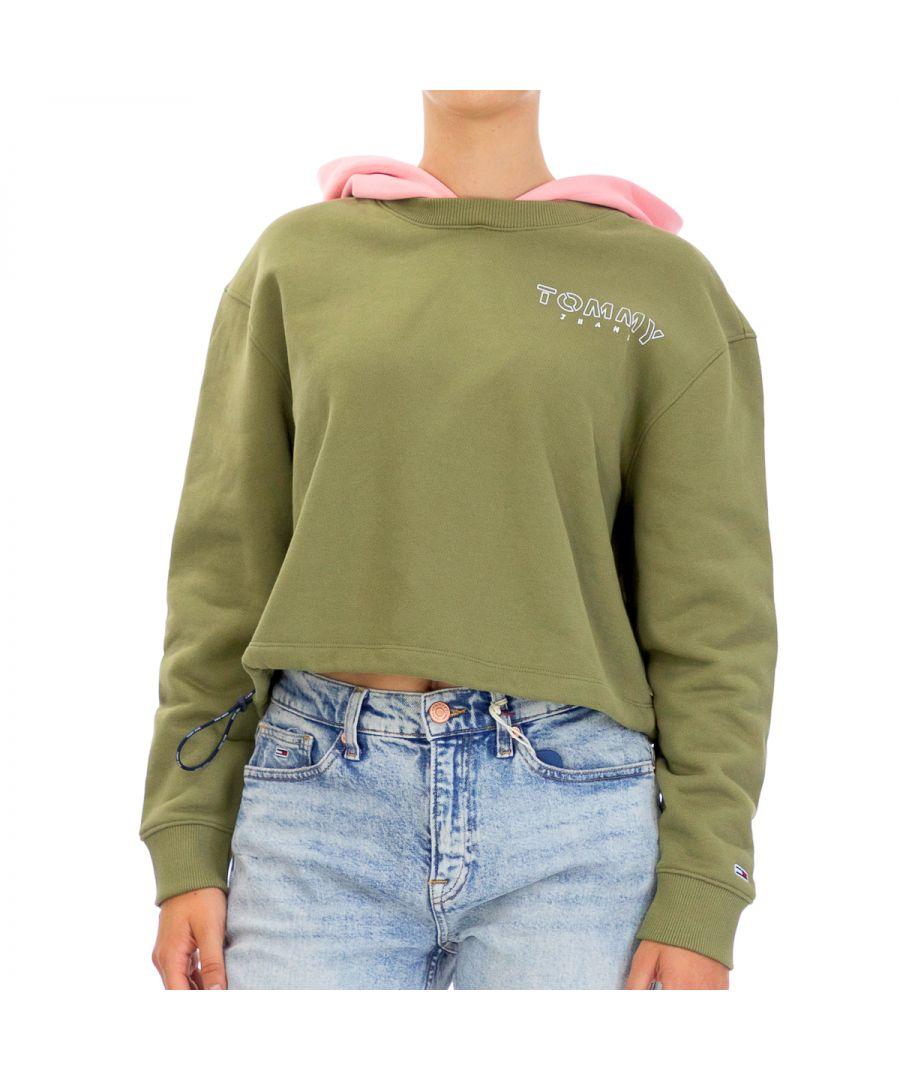 Image for Tommy Hilfiger Women Sweatshirts   Full sleeve Green