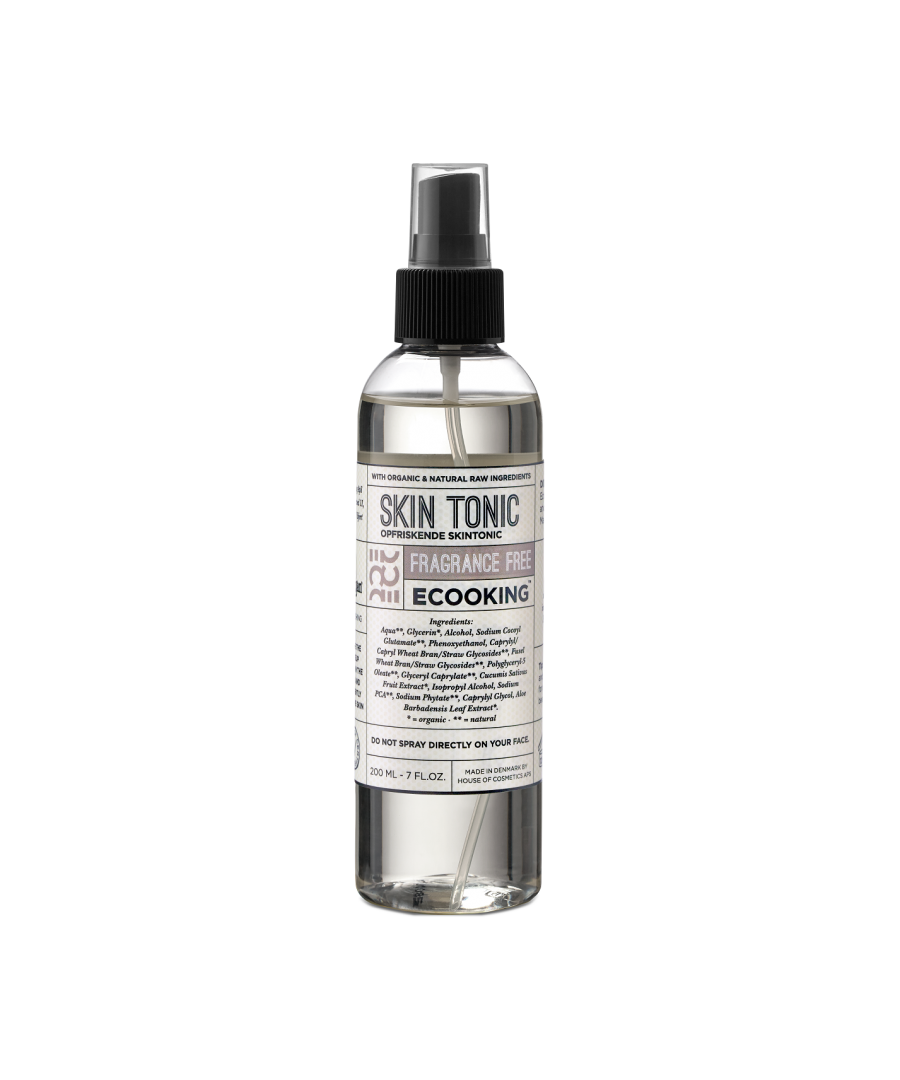 Image for Ecooking Face Mist/Skin Tonic Fragrance Free 200ml