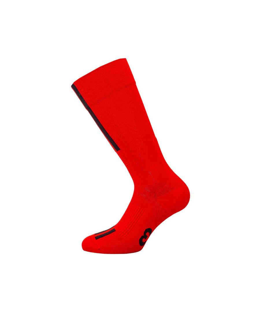 Image for Men's Y-3 Tech Three Stripe Sock in Red