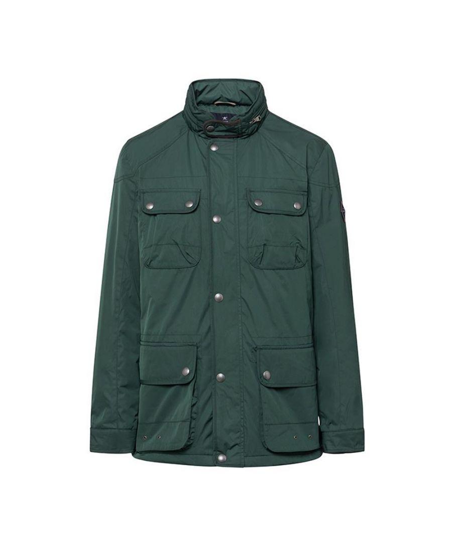 Image for Men's Hackett, Winter Velo Jacket in Green