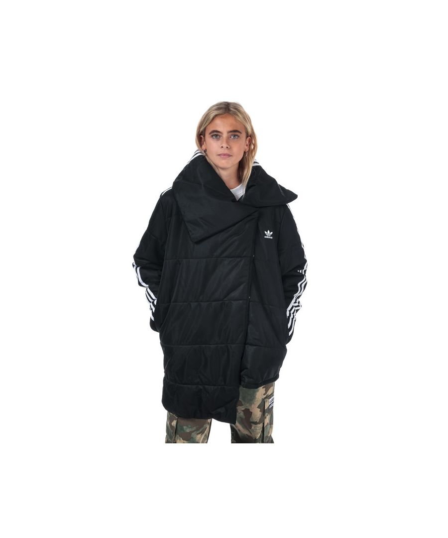 Image for Women's adidas Originals Puffer Track Jacket in Black