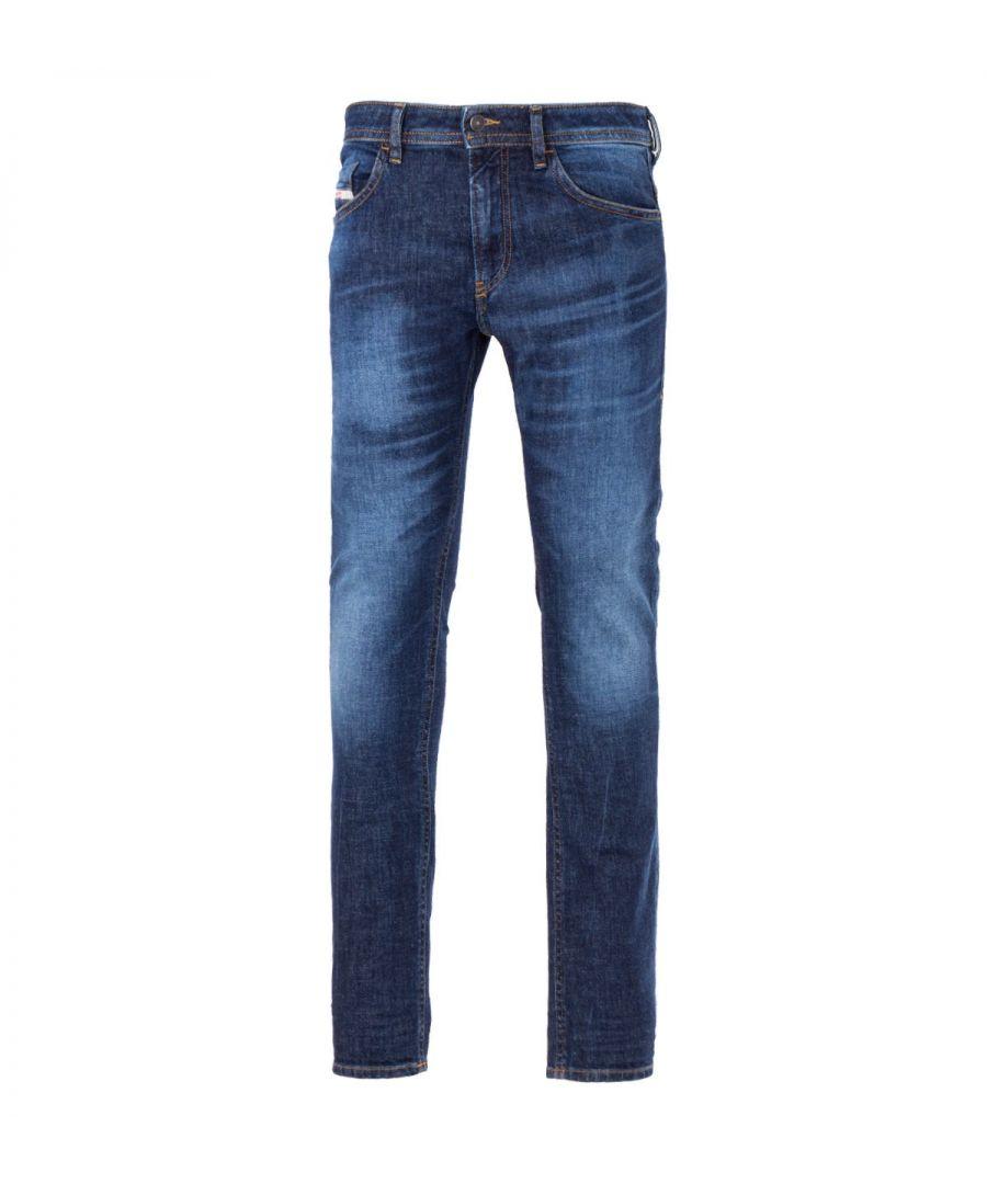 Image for Diesel Thommer Slim Fit Jeans - Dark Blue