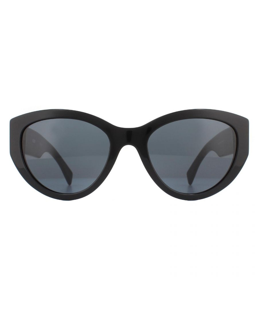 Image for Moschino Sunglasses MOS012/S 807 IR Black Grey Gradient Polarized
