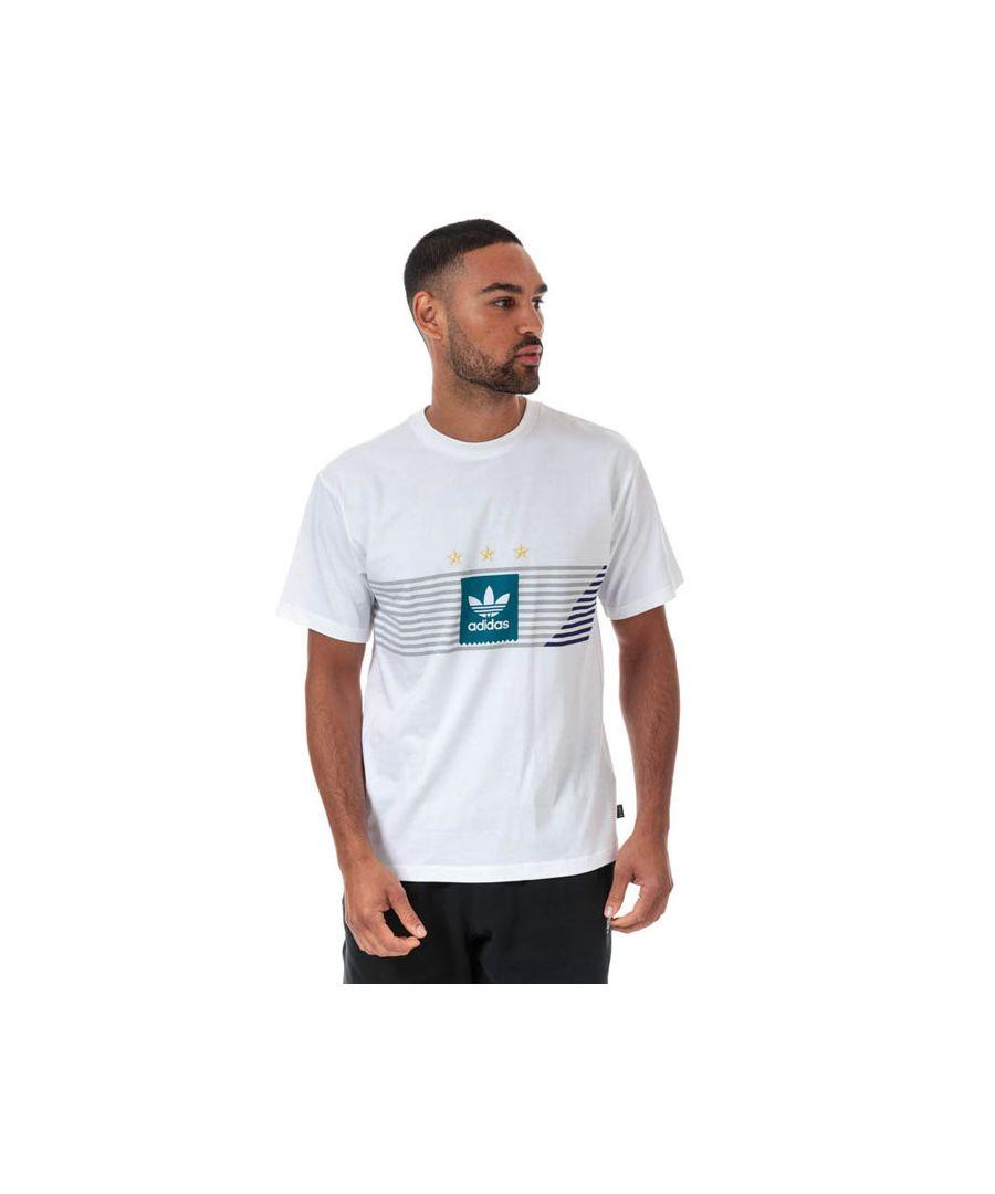 Image for Men's adidas Originals Campeonato T-Shirt in White
