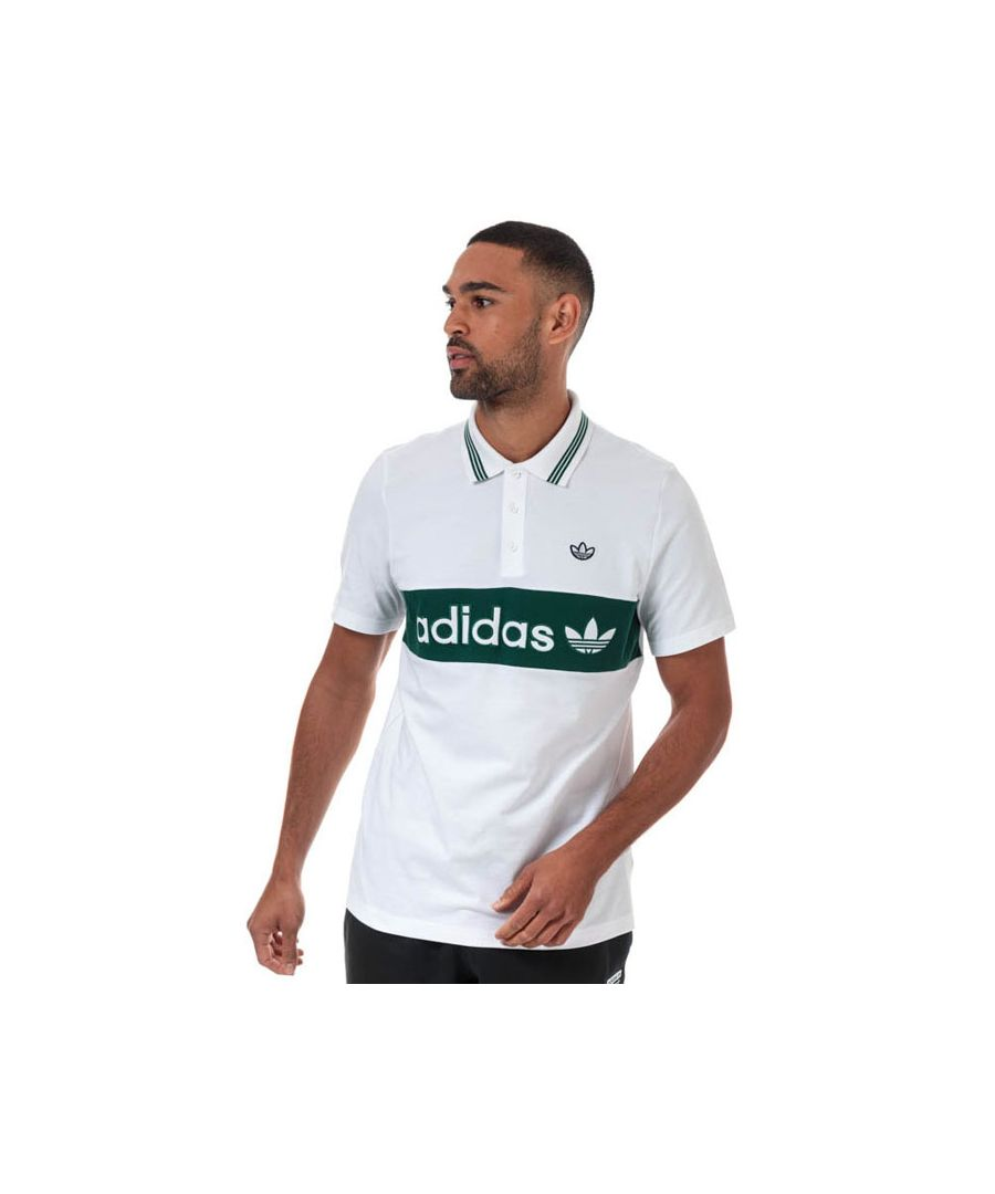 Image for Men's adidas Originals Stripe T-Shirt in White