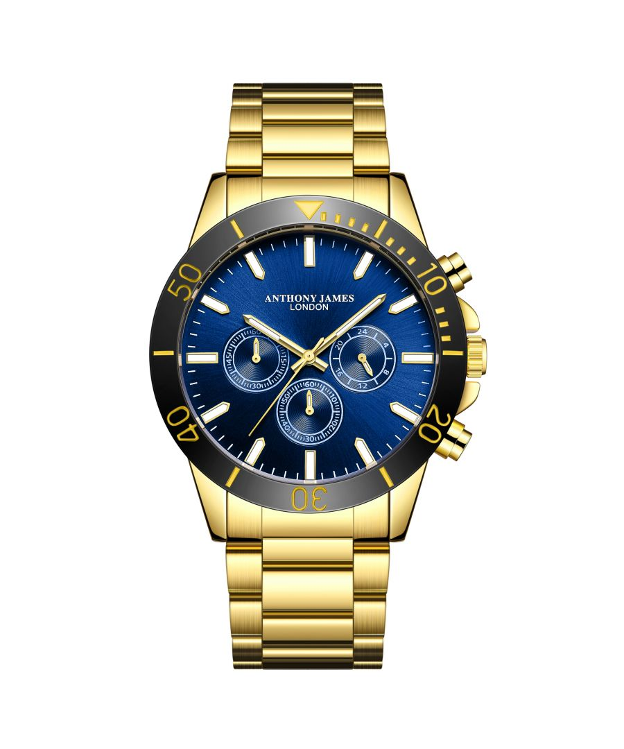 Image for Hand Assembled Anthony James Limited Edition Chronometric  Gold