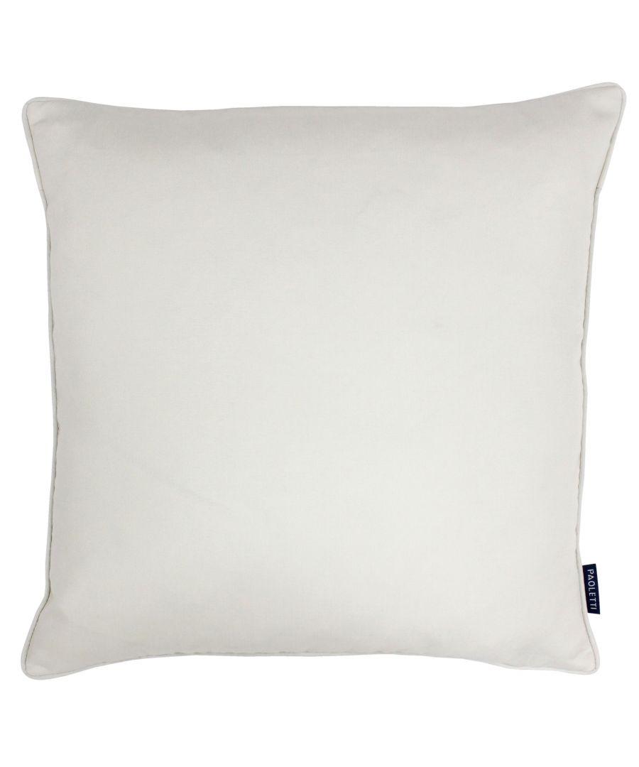 Image for Eclipse 45X45 Poly Cushion Ivory