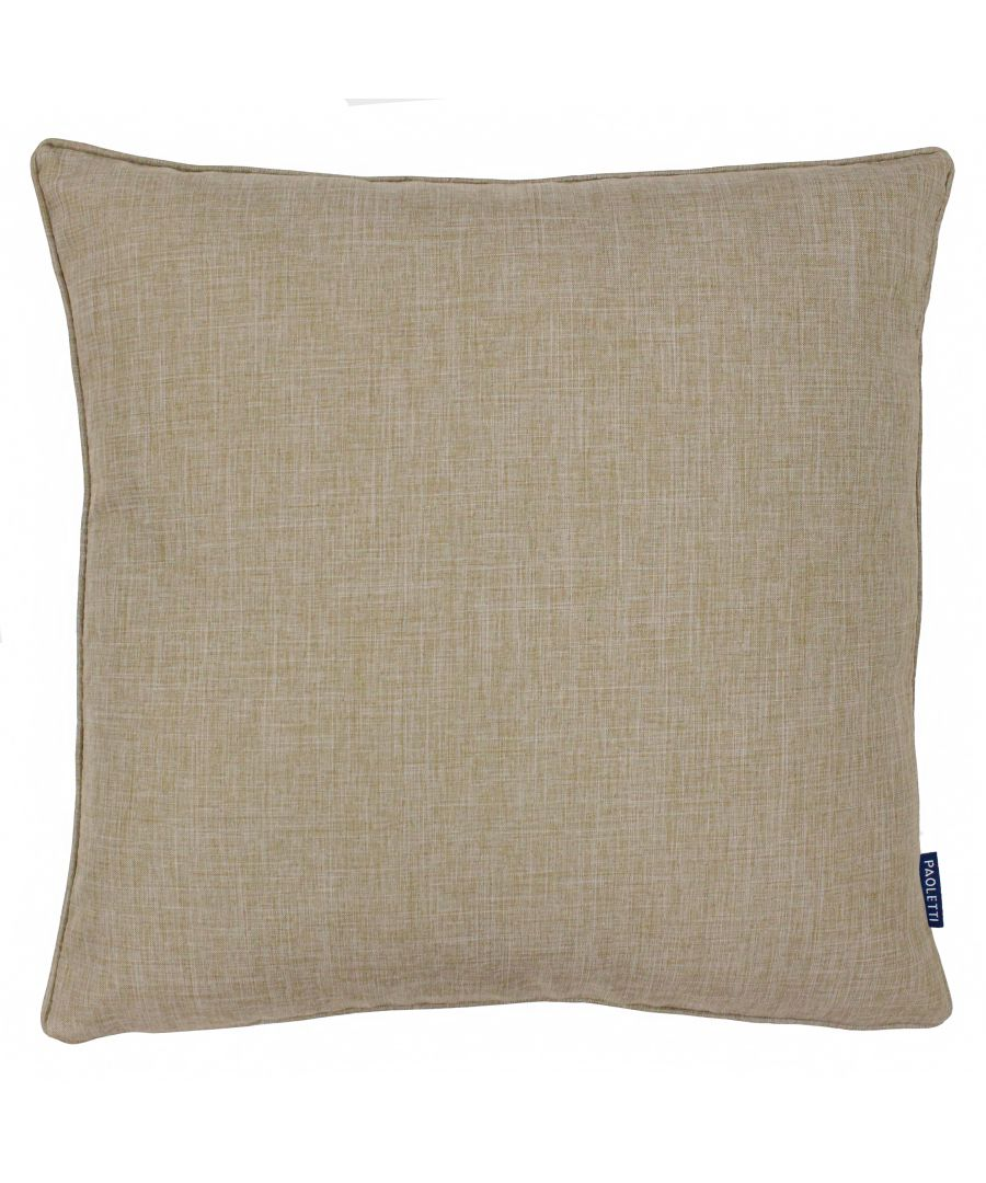 Image for Eclipse 45X45 Poly Cushion Natural