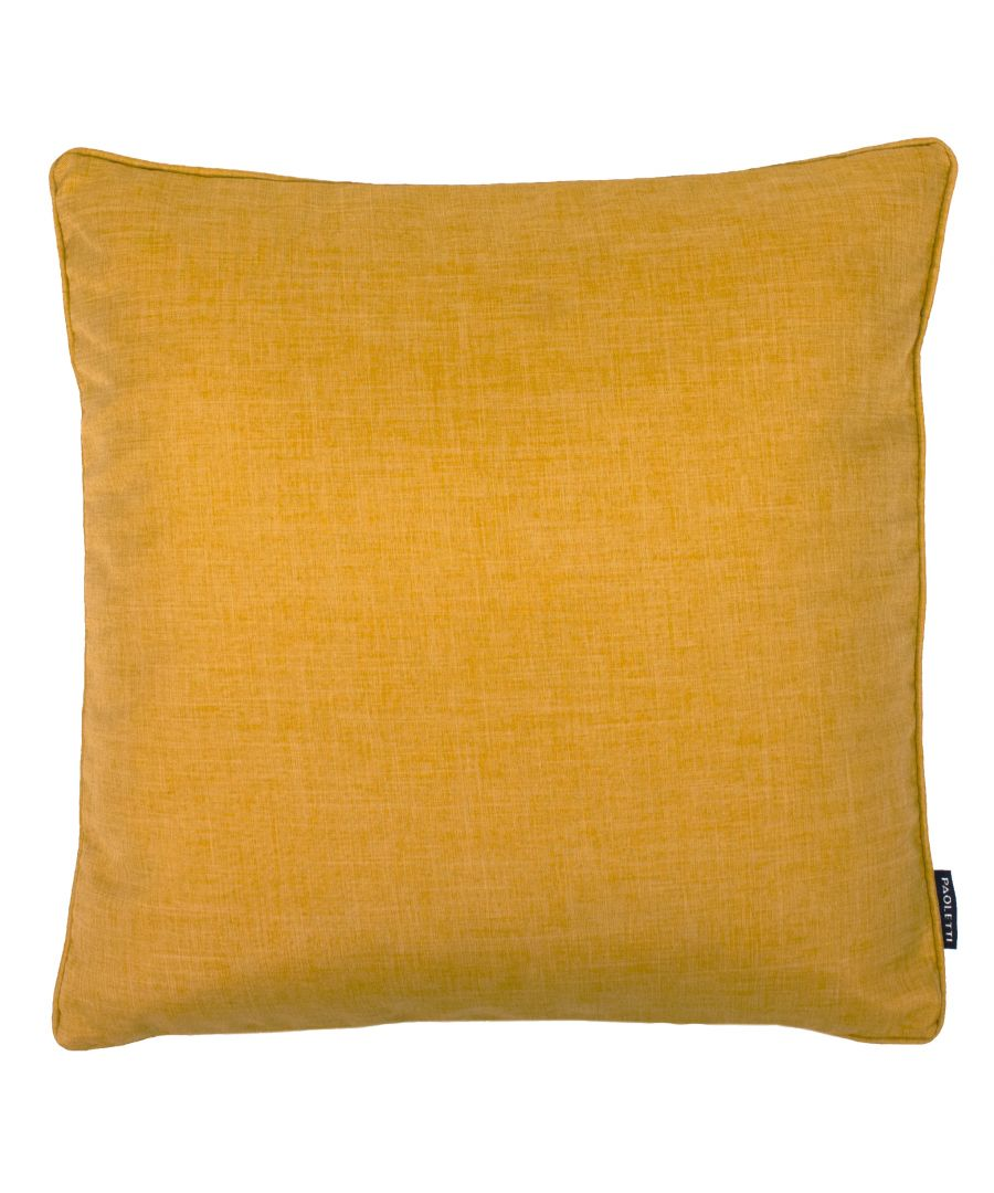Image for Eclipse 45X45 Poly Cushion Ochre