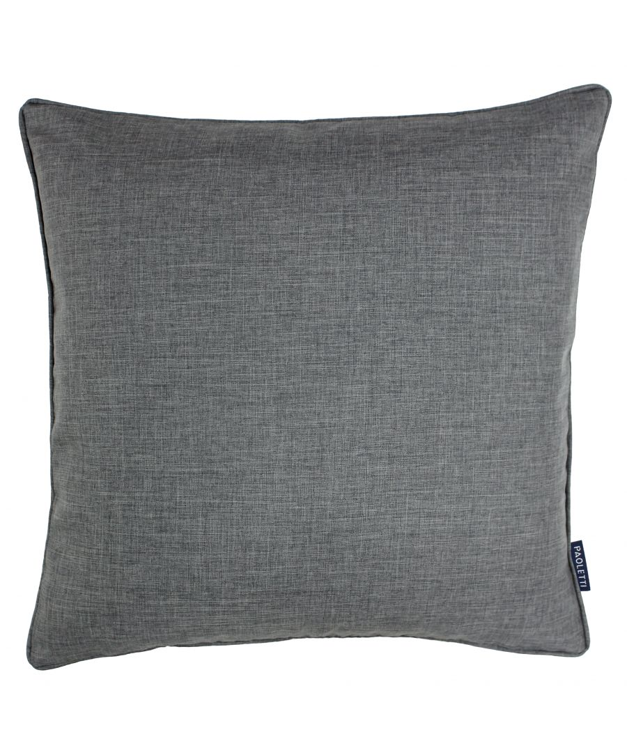 Image for Eclipse 45X45 Poly Cushion Silver