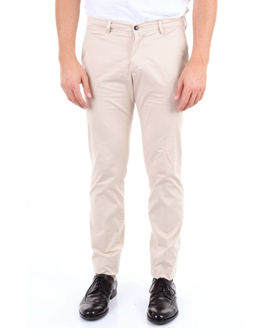 Image for BRIGLIA 1949 MEN'S BG053909BEIGE BEIGE COTTON PANTS