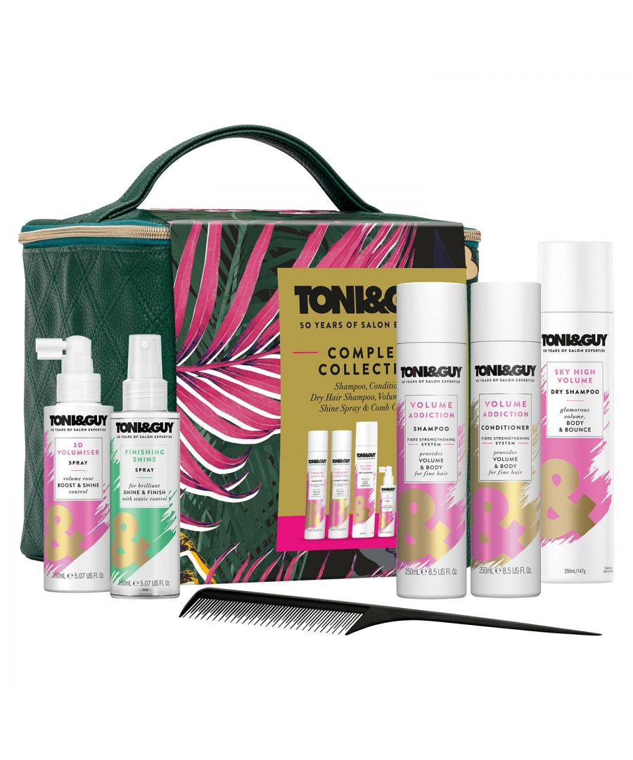 Image for Toni & Guy Volume Collection Cube