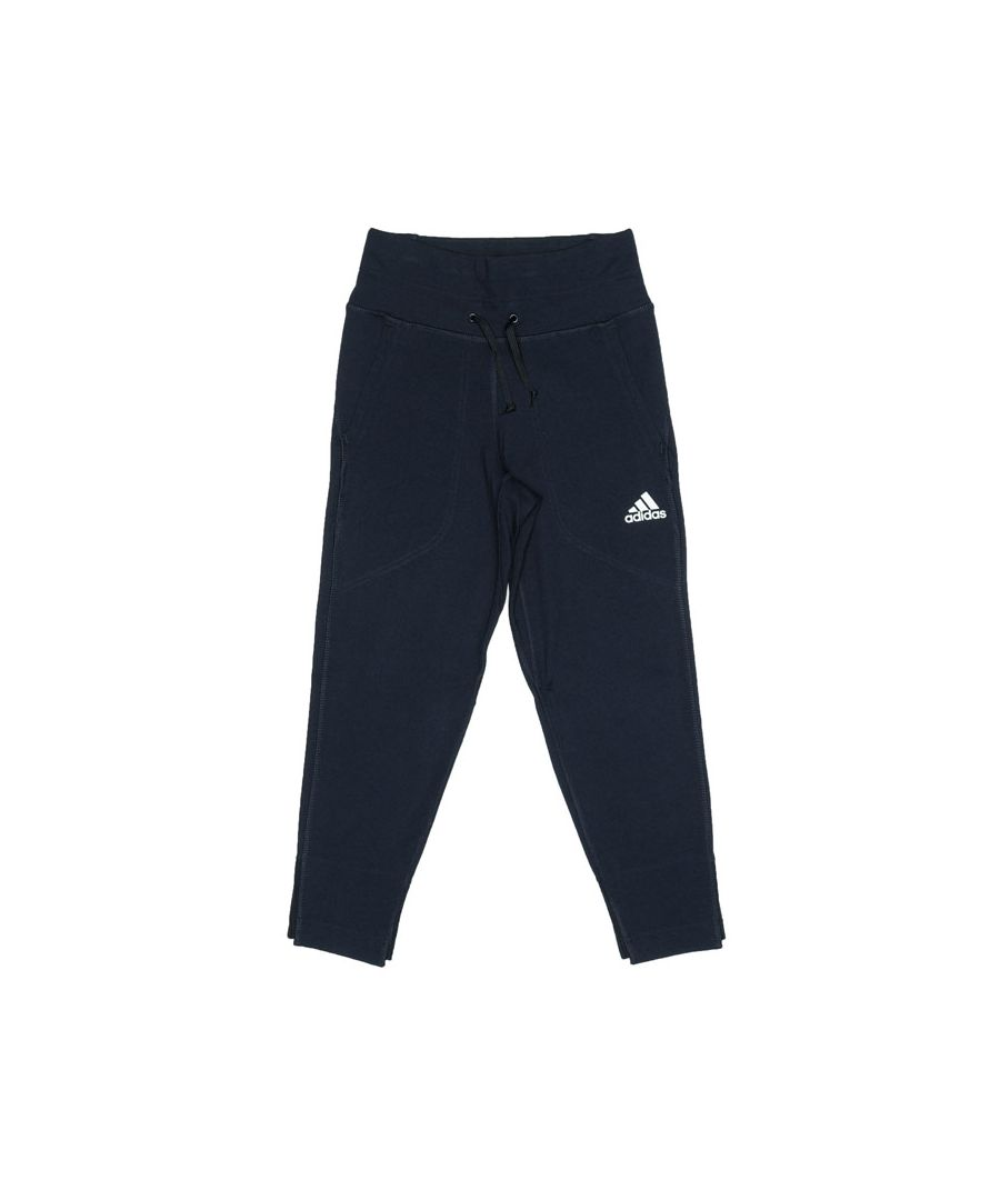Image for Girl's adidas Junior VRCT Tracksuit Bottoms in Navy