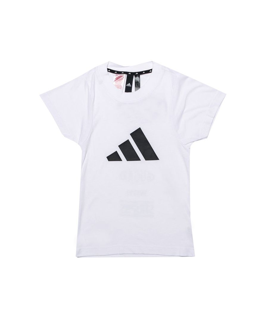 Image for Girl's adidas Infant The Pack T-Shirt in White
