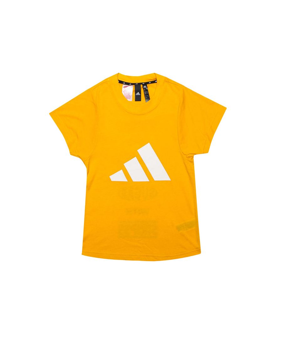 Image for Girl's adidas Infant The Pack T-Shirt in Gold