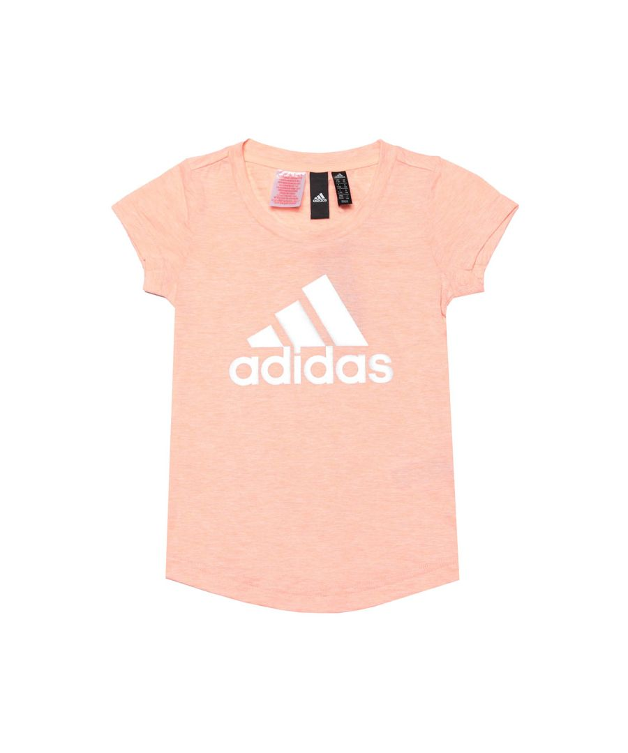 Image for Girl's adidas Infant ID Winner T-Shirt in Pink