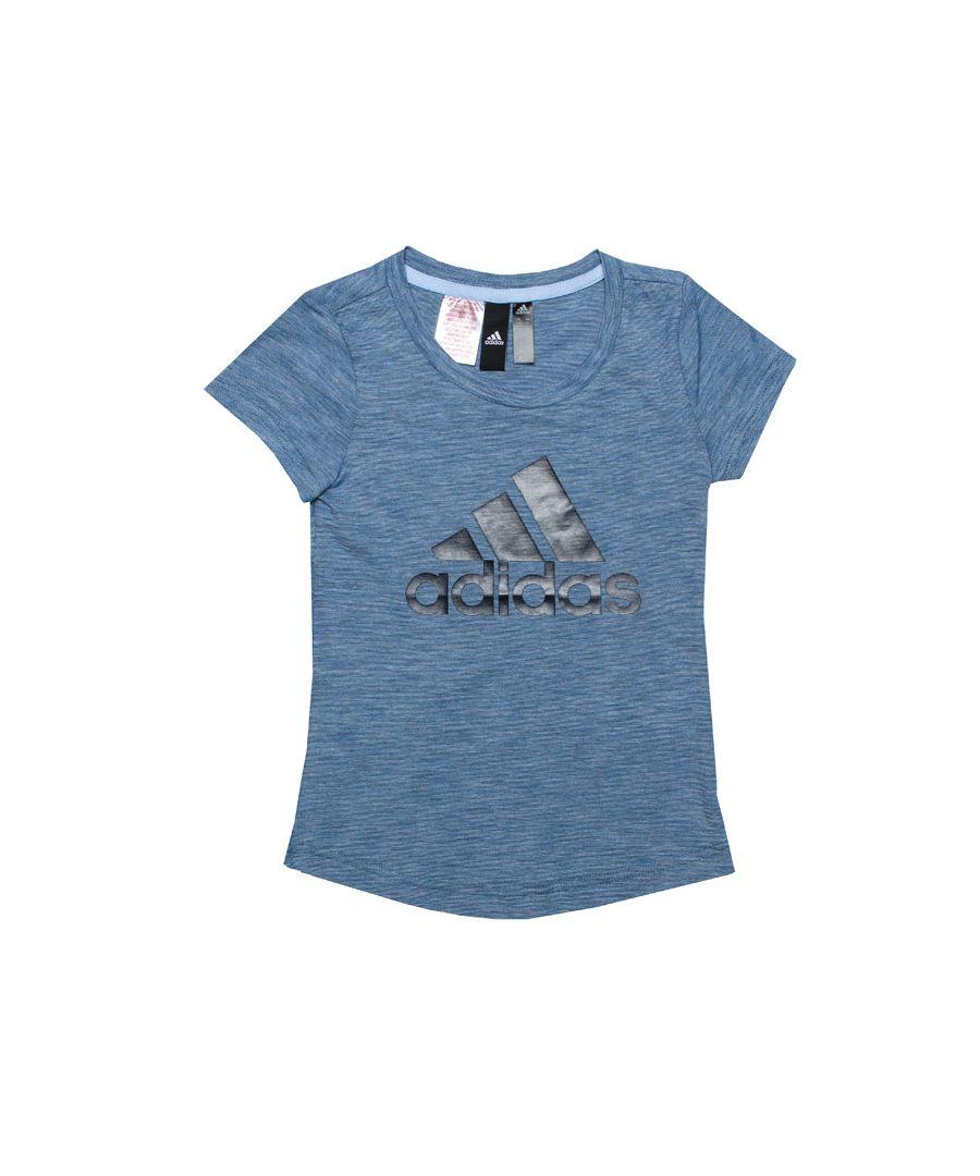 Image for Girl's adidas Junior ID Winner T-Shirt in Blue