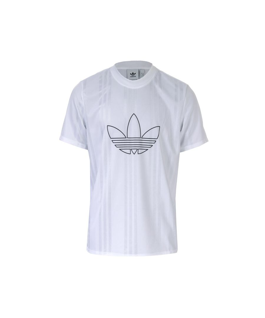 Image for Men's adidas Originals Outline Jersey T-Shirt in White
