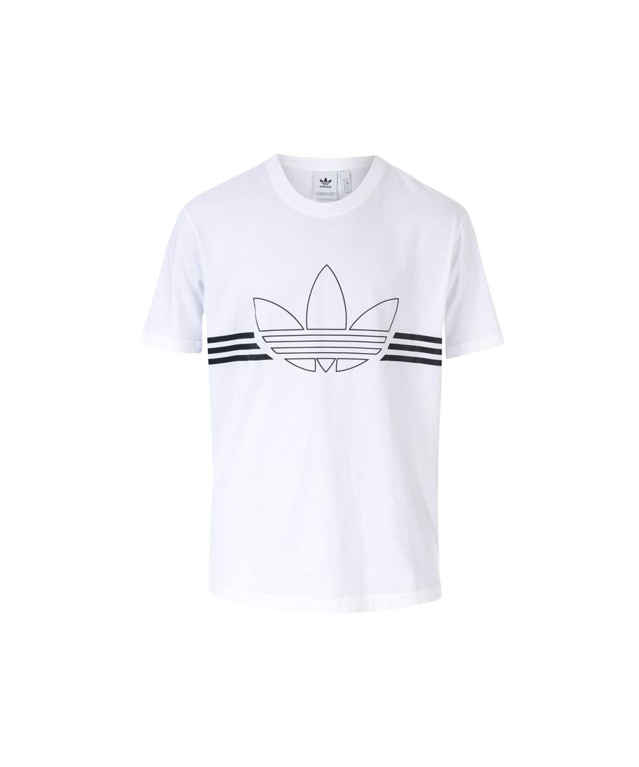 Image for Men's adidas Originals Outline T-Shirt in White
