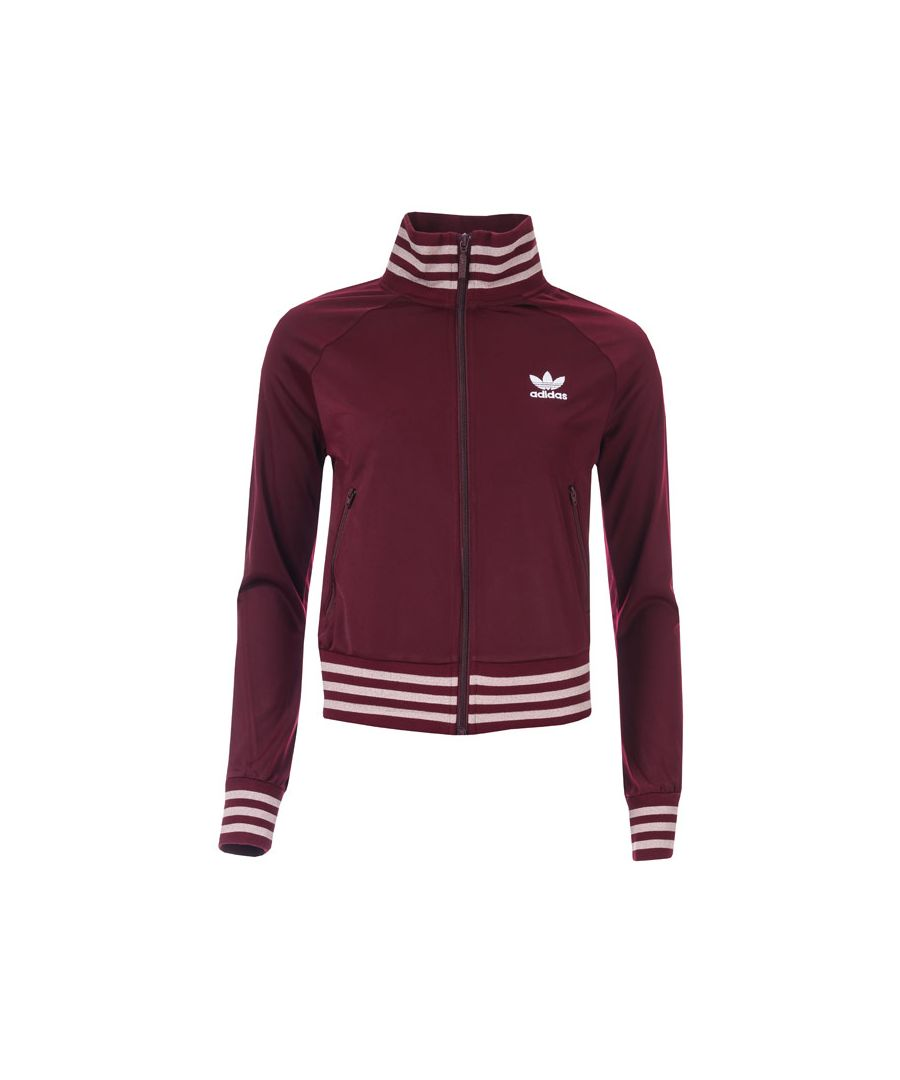 Image for Women's adidas Originals Track Top in Burgundy