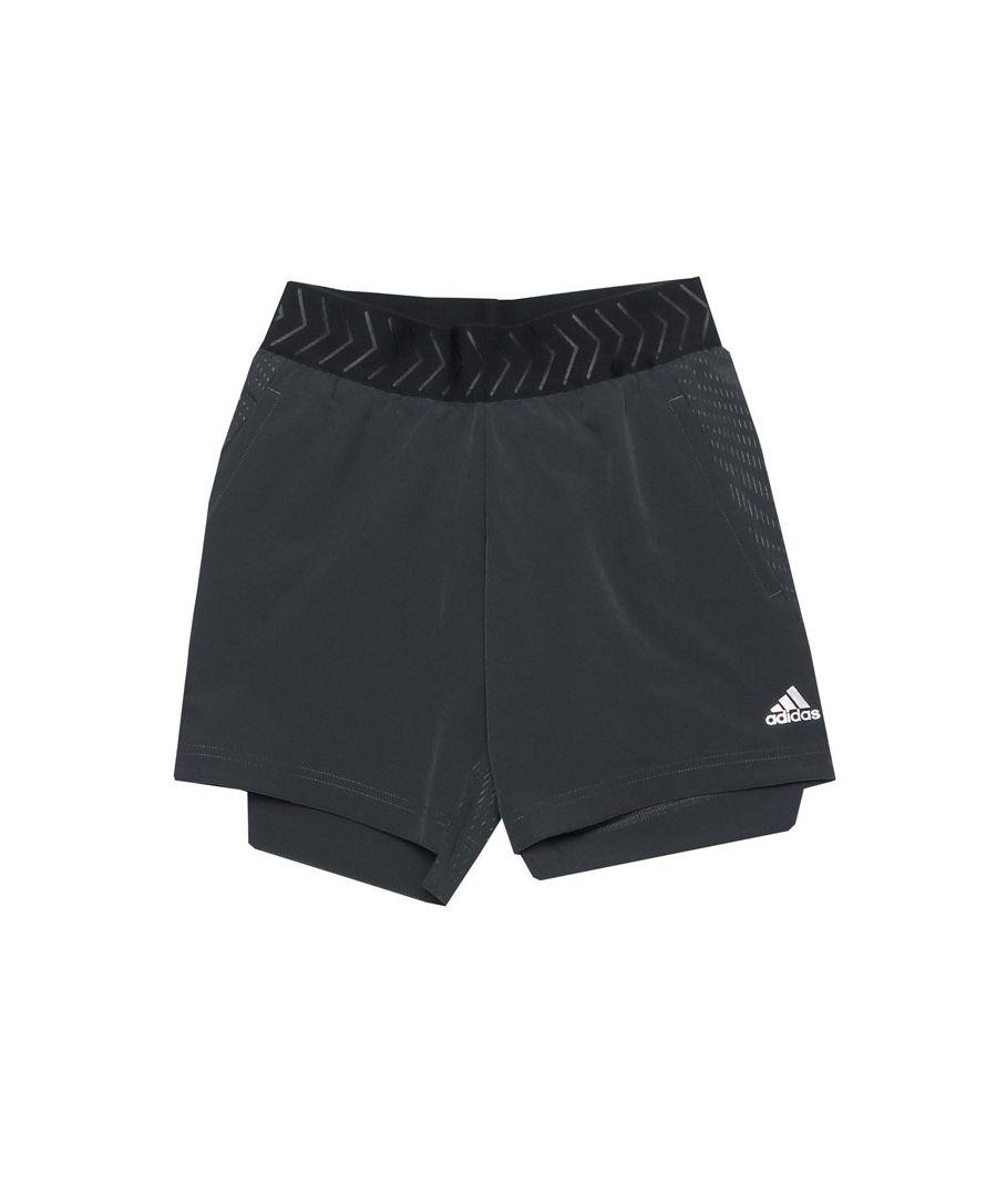 Image for Boy's adidas Infant Nemeziz Shorts in Charcoal