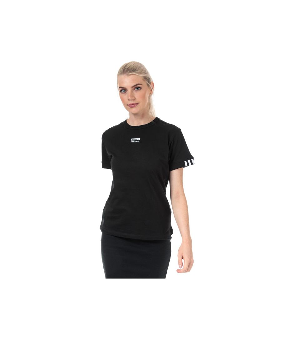 Image for Women's adidas Originals T-Shirt in Black