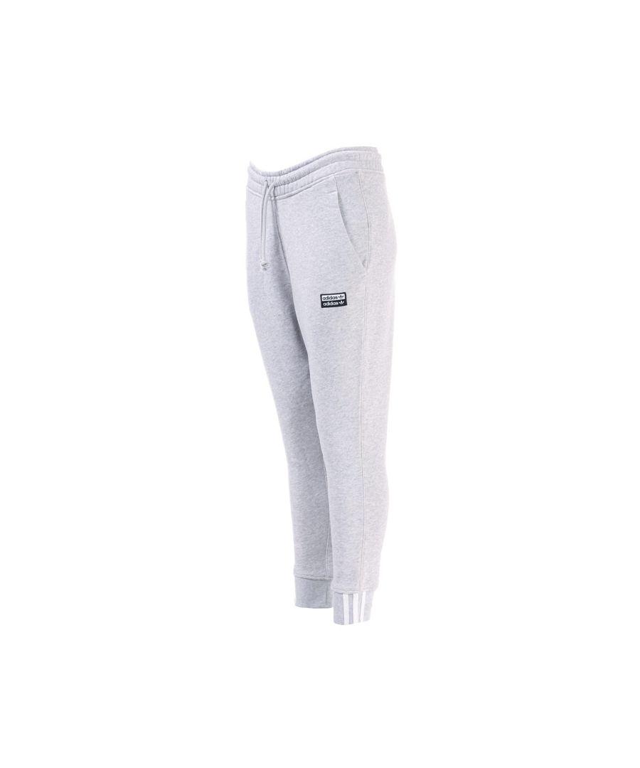 Image for Women's adidas Originals RYV Cuffed Jog Pants in Light Grey