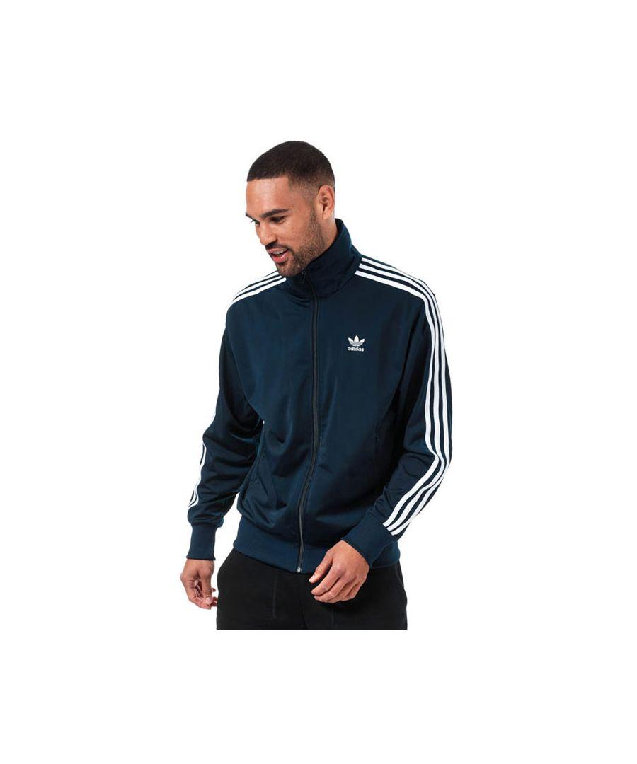 Image for Men's adidas Originals Firebird Track Top in Navy