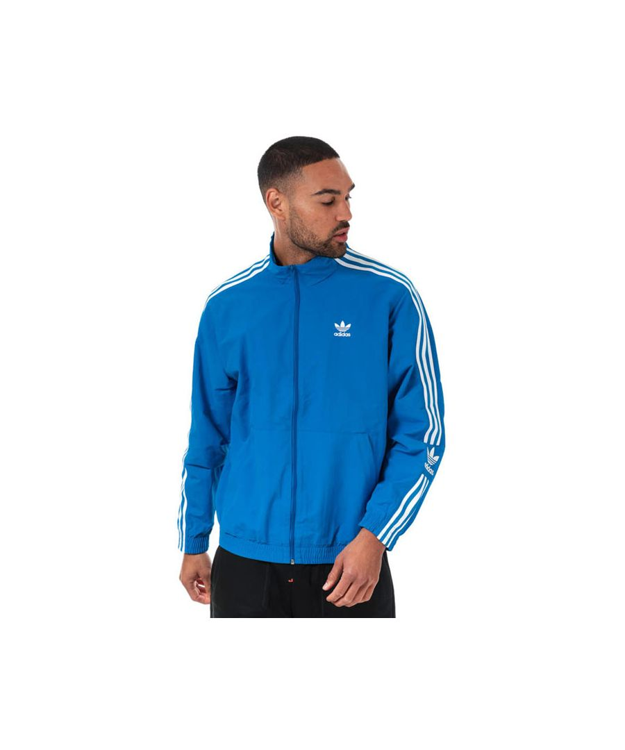 Image for Men's adidas Originals Lock Up Track Top in Blue