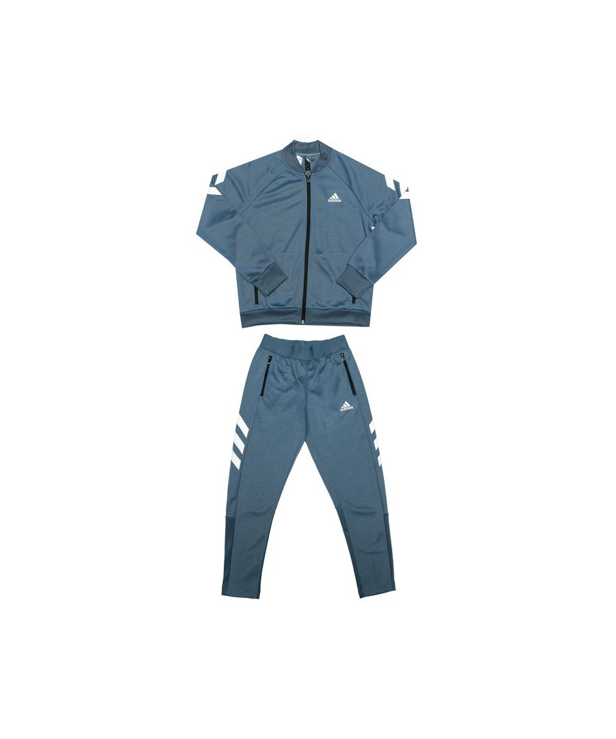 Image for Boy's adidas Junior XFG Tracksuit in Blue
