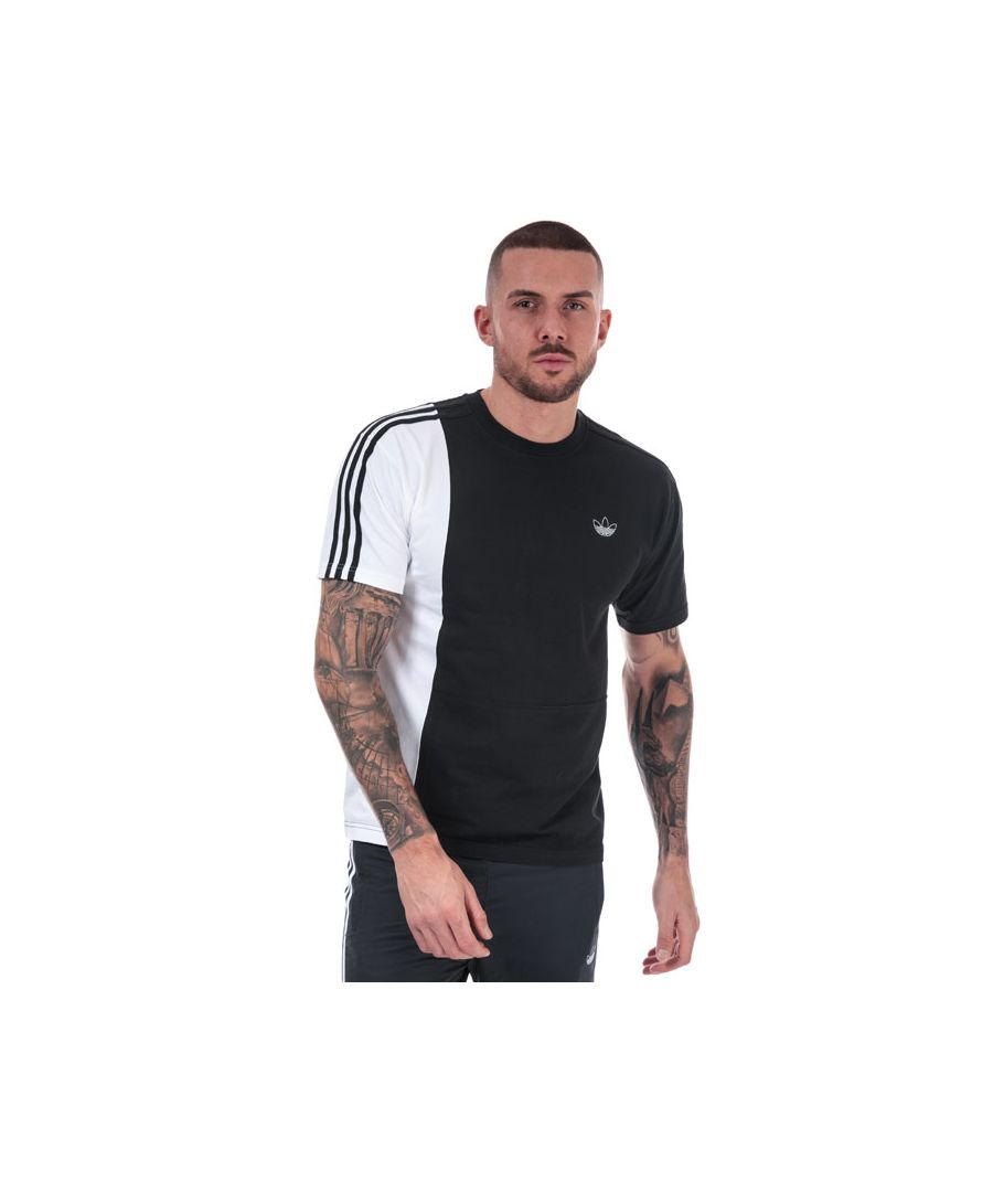 Image for Men's adidas Originals Asymm T-Shirt in Black-White