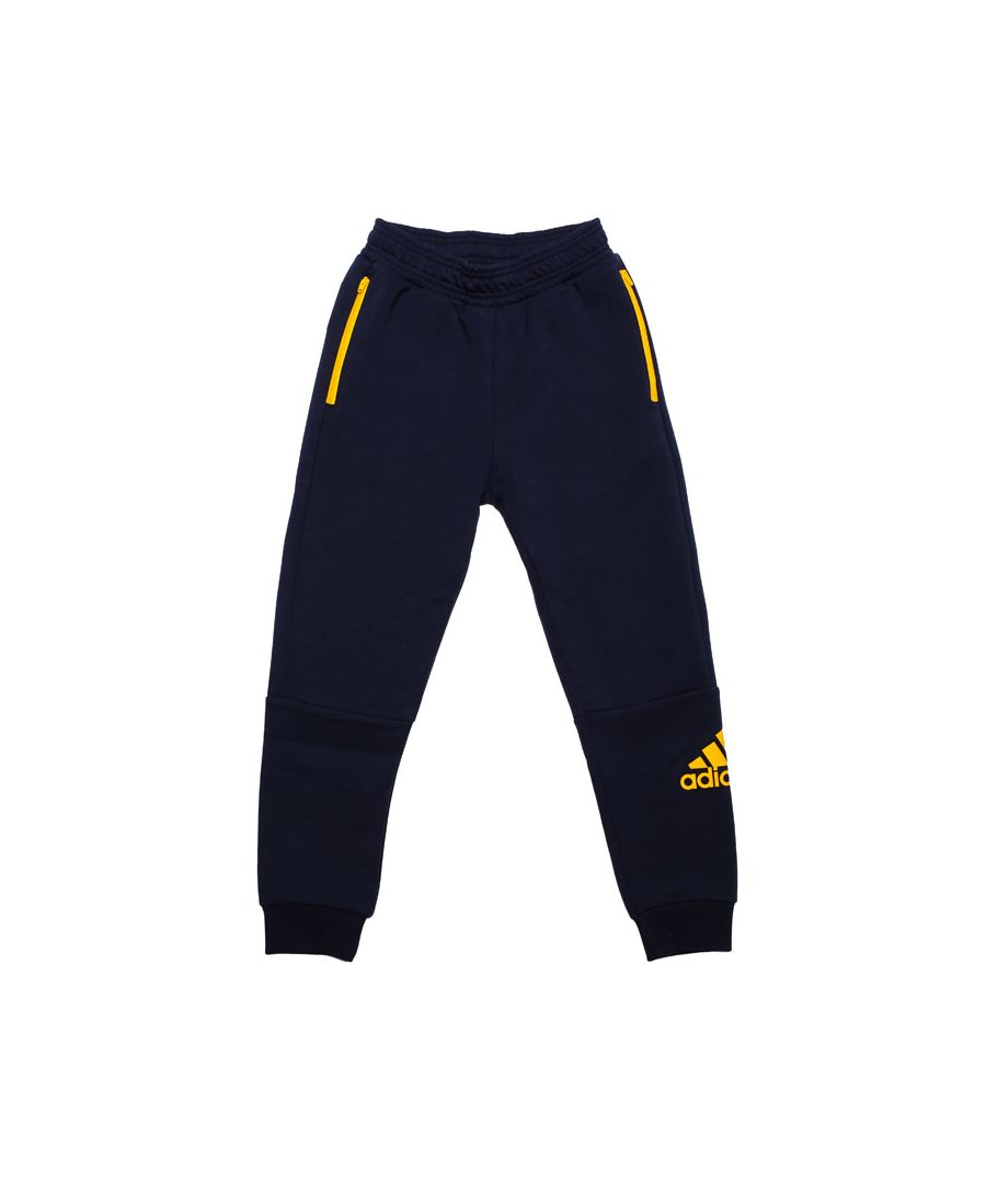 Image for Boy's adidas Junior Sport ID Jog Pants in Navy