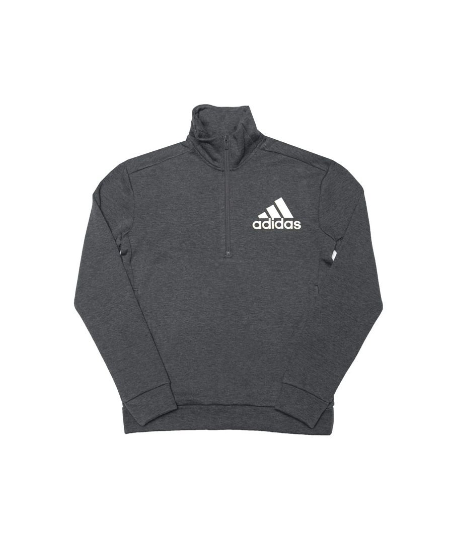 Image for Boy's adidas Junior ID Holiday Zip Sweatshirt in Grey