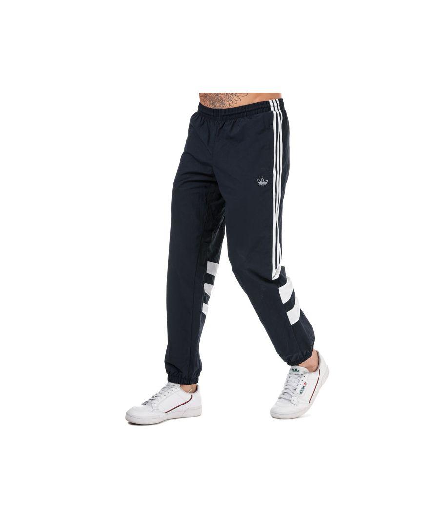 Image for Men's adidas Originals Balanta 96 Tracksuit Bottoms in Navy