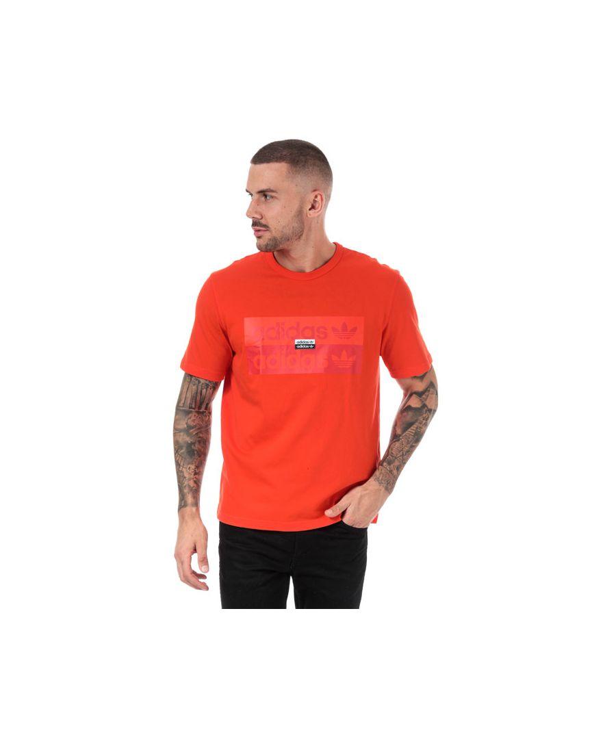Image for Men's adidas Originals R.Y.V T-Shirt in Orange