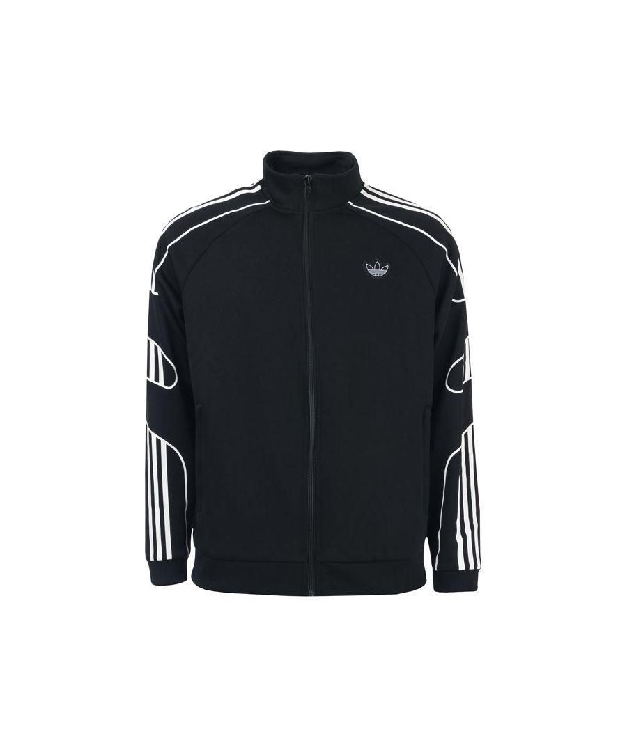 Image for Men's adidas Originals Flamestrike Track Jacket in Black