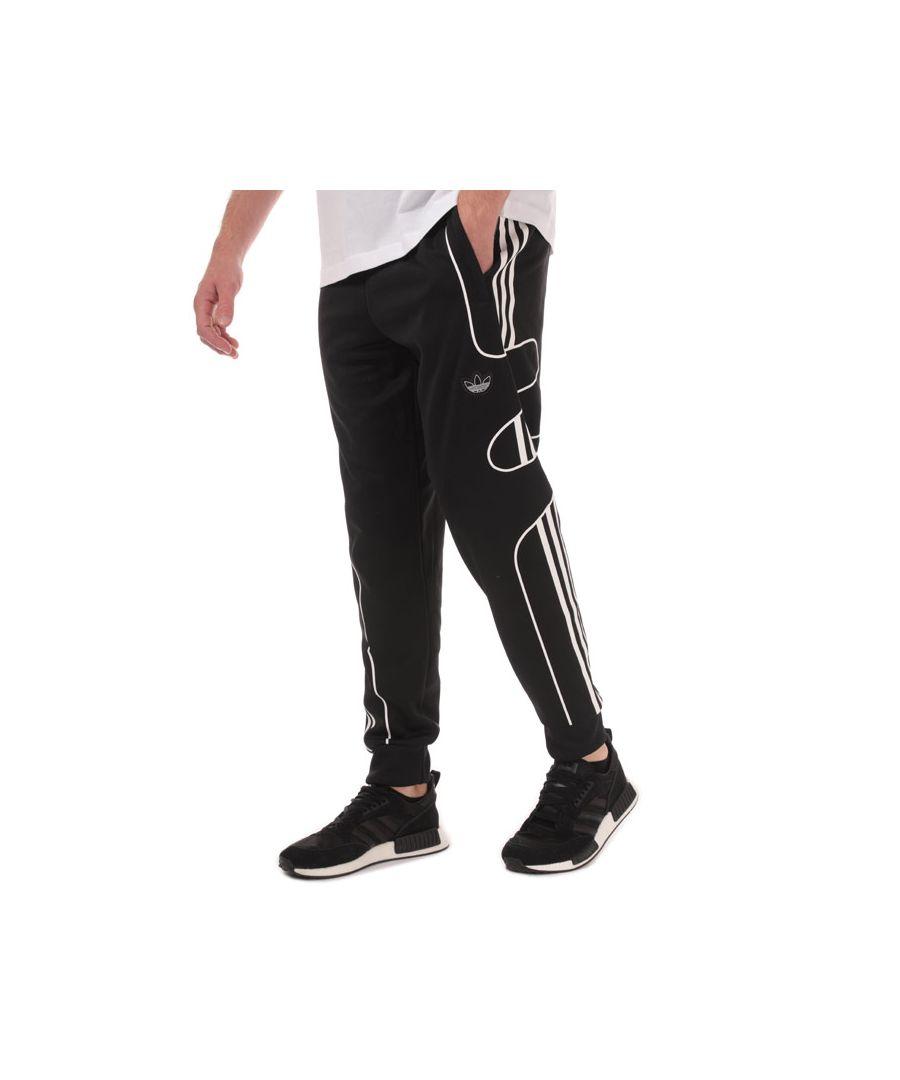 Image for Men's adidas Originals Flamestrike Tracksuit Bottoms in Black